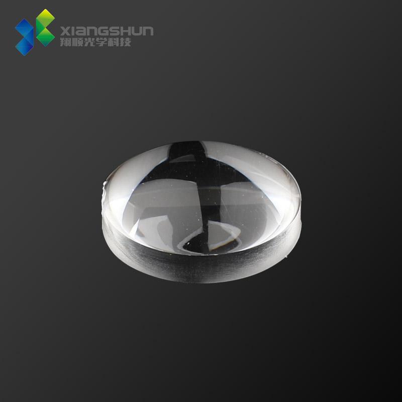 φF14.4mm双凸透镜/LED光学玻璃手电筒透镜