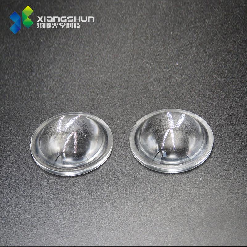 平凸透镜φ38mm放大镜片加边/玻璃镜片手电筒光学透镜镜片