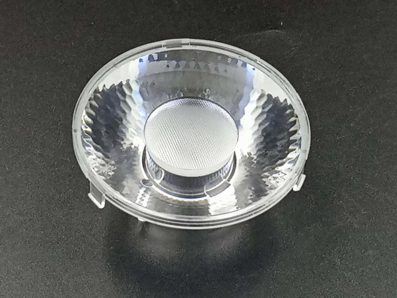 COB防眩光舞台灯筒灯透镜/6930(带扣带柱子喷砂)透镜15°单颗聚光