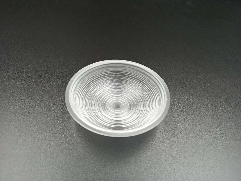 LED调焦手电筒透镜/φ75mm光学透镜凸透镜雾灯透镜
